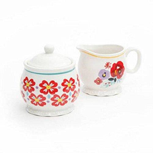 Pioneer Woman Creamer and Sugar Bowl Set by Pioneer Woman