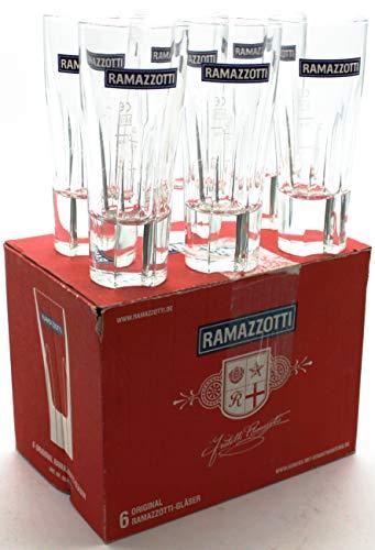 Ramazzotti Original Gläser, 6er Pack