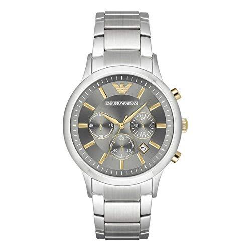 Armani Reloj Analog-Digital para Mens de Automatic con Correa en Cloth S0316143