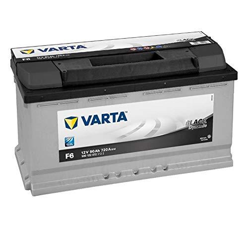 Varta F6 12V 90Ah 720A Black Dynamic Autobatterie 590 122 072