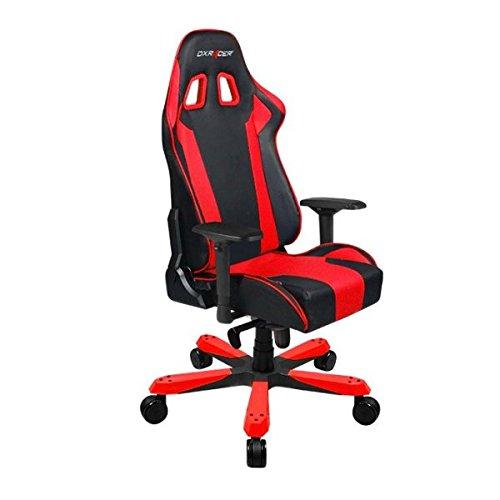 DXRacer Gaming Stuhl, OH/KS06/NR, K-Serie, schwarz-rot