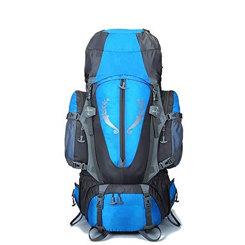 Montañismo bolsa De gran capacidad al aire libre Montañismo Ocio Bolsa de excursión que acampa 80L Bolsa Profesional morral del alpinismo impermeable mochila de viaje Caminar Ciclismo Escalada