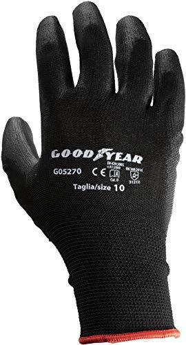 guanti da lavoro goodyear Goodyear Guanti con Palmo in Poliuretano Tg.10