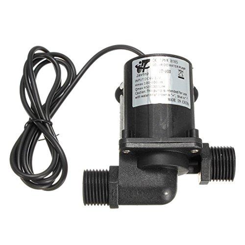 Pumpe - SODIAL(R)DC 12V Elektro / Solar-Brushless Motor Wasserpumpe Aquarium Brunnen 1000L / H Schwarz