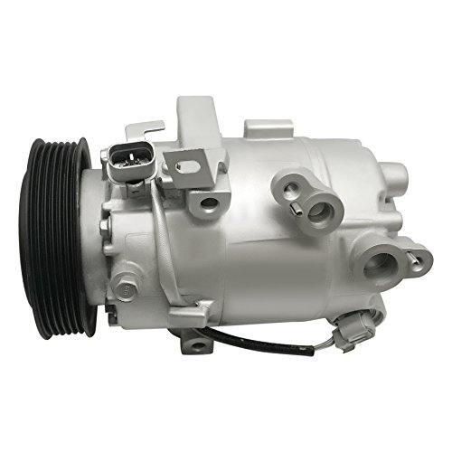 RYC Remanufactured AC Compressor and A/C Clutch AIG383 (For Hyundai Elantra and Kia Forte Vehicles With ATC! With Electronic Control Valve)