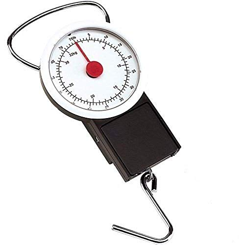 Accurate luggage scale for weighing suitcases and luggage. 32KG capacity.