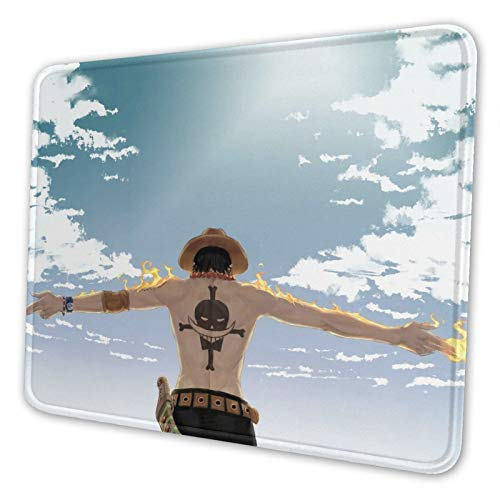 Japan Anime Mouse Pad Gaming Mouse Pads with Stitched Edges Non-Slip Rubber Base for Computer and Laptop 7.9x9.5 inch