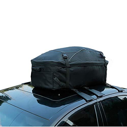 Auto Dakkoffer Auto Dakkoffer Top Carrier Opslag Dak Bagage Waterdichte Soft Box Bagage Outdoor Waterbestendig Voor Auto Reizen Touring Cars Vans Suvs Zwarte Auto Achterrekken & Accessoires