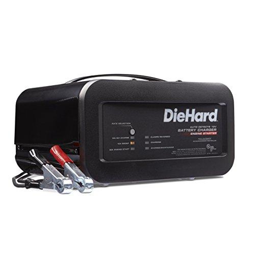Best Deals! DieHard 71323 12V Shelf Smart Battery Charger and 10/50A Engine Starter