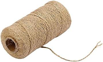 100 M Handgemaakte Hennep Linnen Koorden Jute Twine Touw String Diy Craft Art Decoratie Geschenkdoos String Koord Bruiloft...