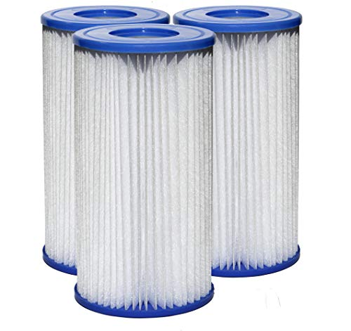 SUNSET FILTERS - Type A or C Pool Filter Replacement Cartridge (3-Pack)