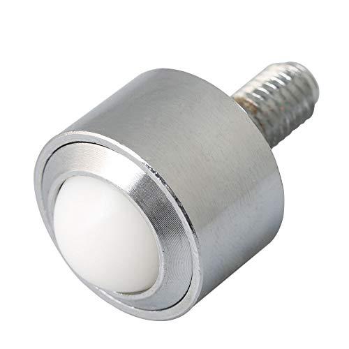 BQLZR 15 mm Stahl-Nylon-Kugellager, Metall-Transferrolle, M8-Gewinde, Schaftbelastung 45 kg
