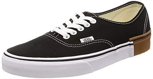 Vans The Authentic Skate Sneaker Black White/Gum Sole (8 M US Men)