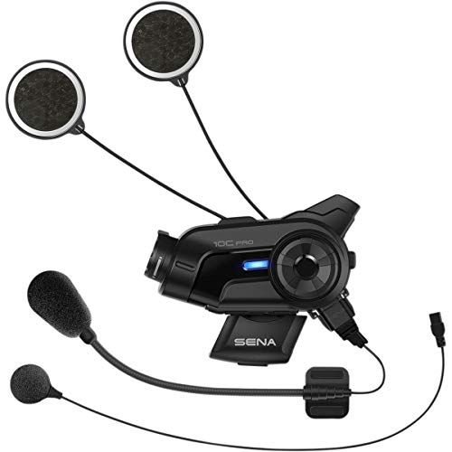 Purchase Sena 10C-PRO-01 Black Small 10C Pro Motorcycle Bluetooth Camera & Communication System