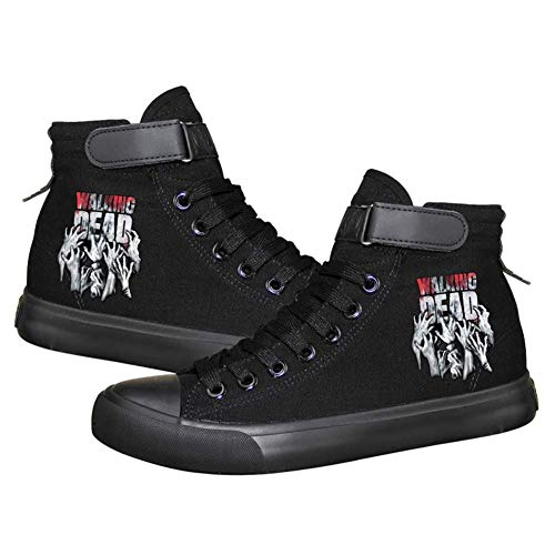 The Walking Dead Cosplay Schuhe Canvas Schuhe leuchtende Sneakers, Herren, Picture 10, 9 D(M) US Male