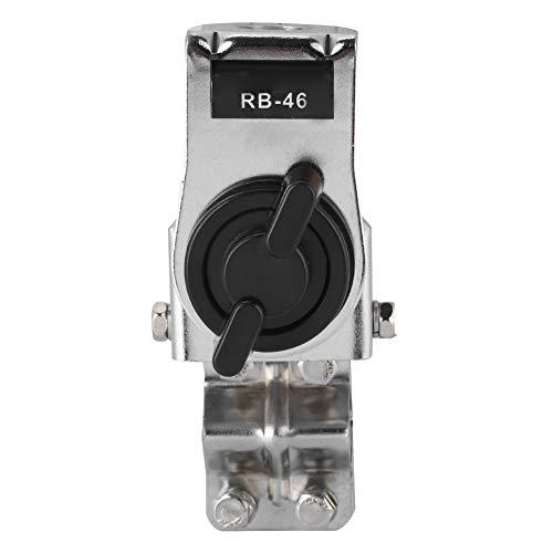 Bewinner auto-antennebeugel voor autoradio - zonder boren voor eenvoudige installatie, 4 bevestigingsschroeven - vrij instelbare antennebeugel voor grote FM/UHF- en middelgrote HF-antennes