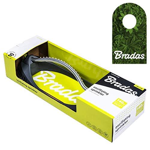 Bradas Viereckregner Rasensprenger Regner Sprinkler Messingdüsen Lime LINE LE-6304 4444