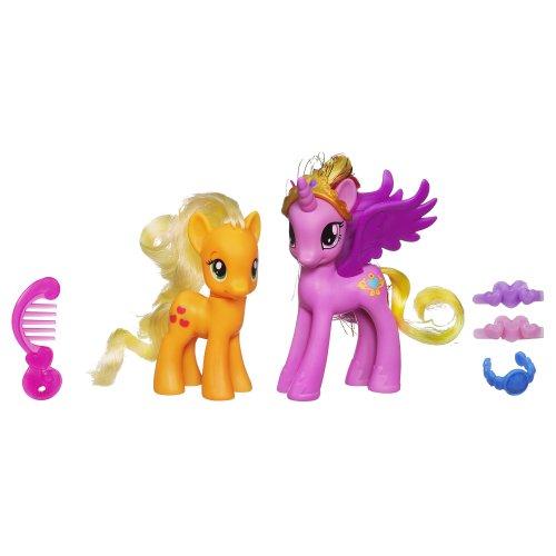 My Little Pony Princess Cadance & Applejack Figures