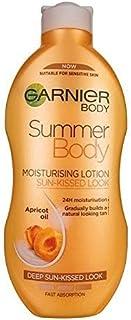 [Garnier ] ガルニエの夏のボディ暗い緩やかな日焼けの保湿剤の250ミリリットル - Garnier Summer Body Dark Gradual Tan Moisturiser 250ml [並行輸入品]