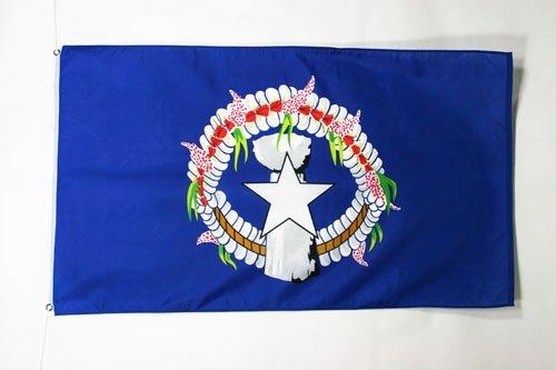AZ FLAG Drapeau Iles Mariannes du Nord 90x60cm - Drapeau américain 60 x 90 cm - Drapeaux