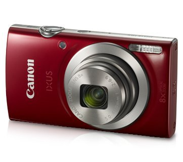 Canon IXUS 185 20 MP Point & Shoot Camera (Black)