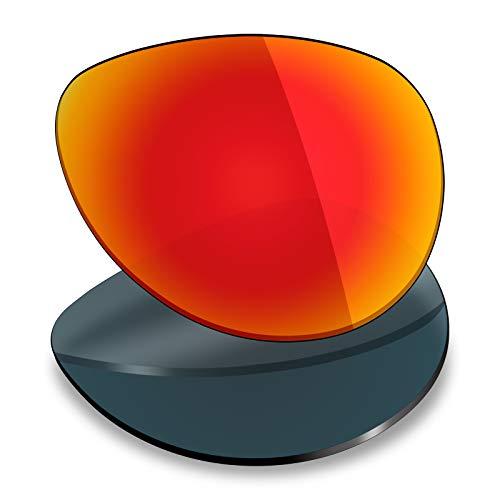 Mryok Ersatzgläser für Oakley Feedback -  Rot -  Einheitsgröße