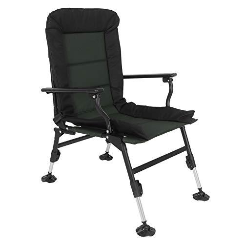 Silla de camping, silla de jardín ajustable, silla plegable ajustable, silla de pesca, silla de camping plegable, sofá cama de camping, silla de pescar, silla de playa, silla de camping 60 x 58 cm