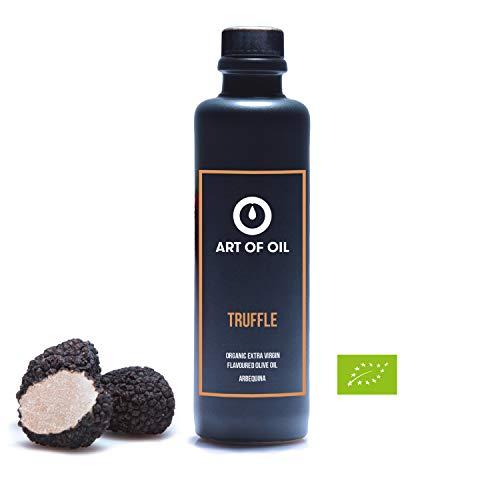 Olivenöl mit Trüffel von ART OF OIL | 200ml BIO natives Olivenöl Extra mit schwarzem Trüffel verfeinert | Tolles Feinschmecker Geschenk