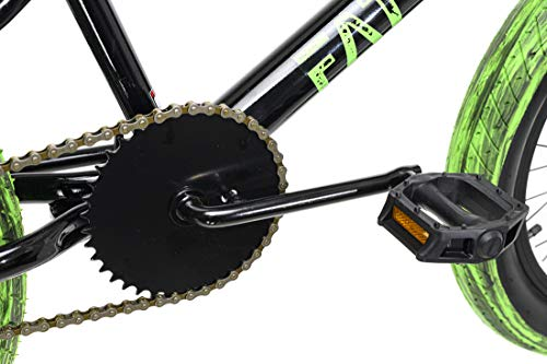 KS Cycling BMX Freestyle 20'' Fatt schwarz-grün - 2