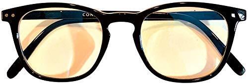 CONSTANTINELLI Reading Glasses for Men Women Blue Light Glasses 1.25 Magnification Anti-Blue Ray Eyeglasses Computer Eyeglasses Gaming Glasses.(+1.25x)