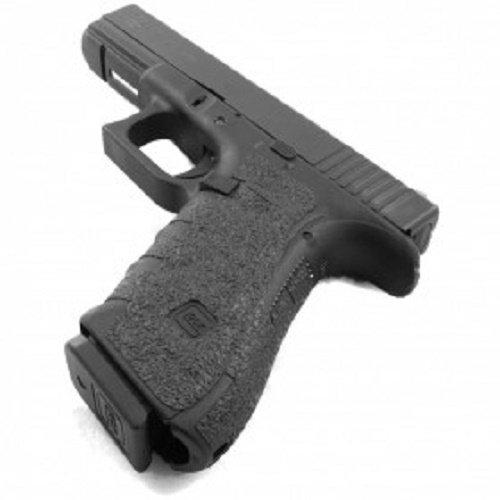 TALON Grips for Glock 17,22,24,31,34,35,37 (Gen4 No Backstrap) Black Granulate - 113G W/Free Sticker - Johnson Enterprises, LLC