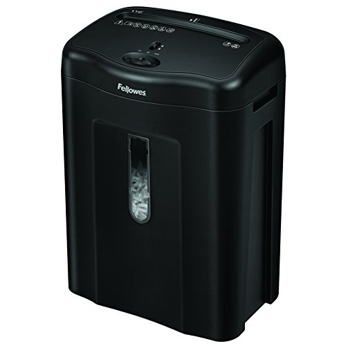 Fellowes 11C - Destructora trituradora de papel, corte en pa