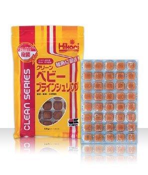 【冷凍飼料】クリーン・ベビーブラインシュリンプ 3枚セット