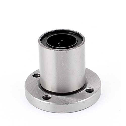 uxcell LMF20UU 20mm Inner Dia. Round Flange Linear Bearing Bushing CNC Router