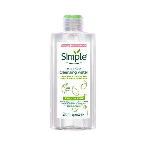 Simple Gesichtswasser, für den täglichen Gebrauch Reinigendes Mizellenwasser Besonders sanfte reinigung, 200 ml