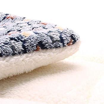 LINGHAN Couverture pour Chien et Chat épais, Lit pour Chien Super Doux Velours Corail Moelleux Coussins Lavable en Machine, XL-100x75cm Matelas Chiot Chat Chaud Haute