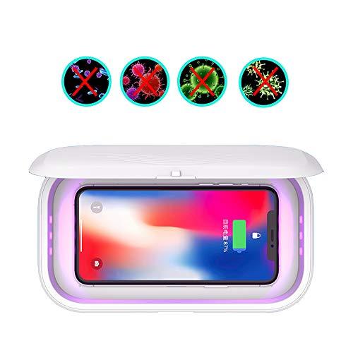 Cell Phone Sanitizer Box, Desinfectie box draadloze mobiele telefoon sterilisator masker snel opladen mobiele telefoon sterilisatie