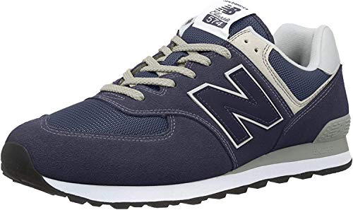 New Balance Herren 574v2 Core Sneaker, Blau (Navy), 45 EU
