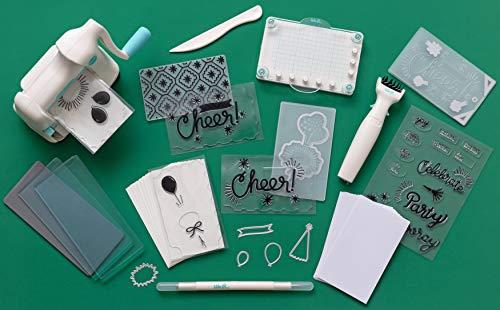 We R Memory Keepers Mini Evo Die Cut Machine & Stamping Kit, Teal