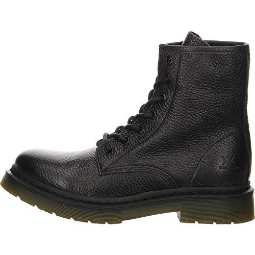 Salamander Damen Combat Boots Stiefelette schwarz Gr. 38