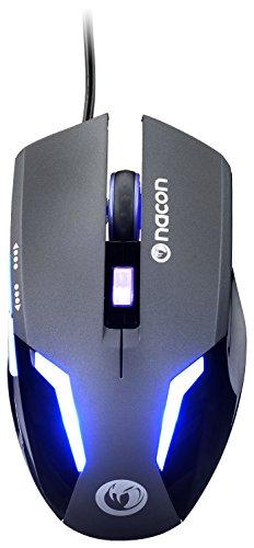 Nacon - Ratón Gaming PCGM-105 con Luz Azul