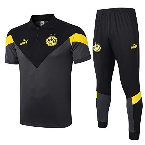 zhaojiexiaodian trainingsshirt met korte mouwen voetbalshirt zwart