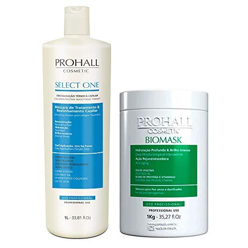 Prohall Kit Select One Progressiva Colagen Protein & Biomask Hydration