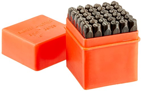 NEIKO 02624 Number and Letter Punch Set | 36 Piece | For Hobbyists, Arts and Crafts | High Strength Heat Treated Steel