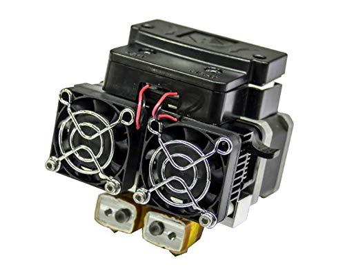 Extruder Assembly including Motor and Fans for Flashforge 3D Printer (For Dreamer)
