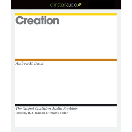 Creation audiobook cover art