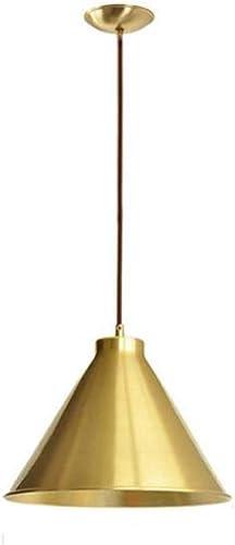 Pendentif en laiton à une tête, lustre en croix créatif nordique en cuivre rétro, lampe suspendue au plafond du salon, E27, 110-240V,30cm