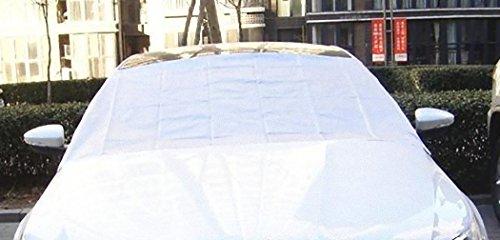 『普通車用 フロントガラス 磁性 凍結防止シート シンプル 台形型 (146cm×166cm×100cm)』のトップ画像