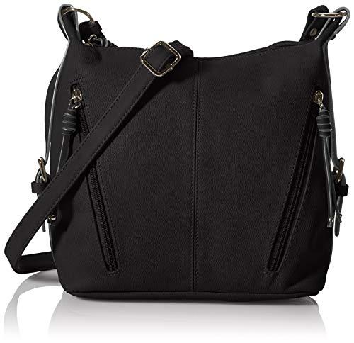 TOM TAILOR Damen CAIA Cross Bag, Black, M