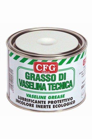 GRASSO DI VASELINA TECNICA DA 500 ML.